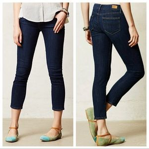 Anthropologie Paige Kylie Crop Jeans - Size 28